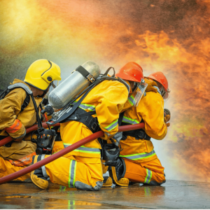 fire-fighting-training-men-to-left-of-fire-min